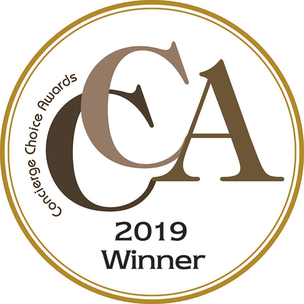 2019 Best Pre-Theater Dining award received from La Masseria by Concierge Choice Awards